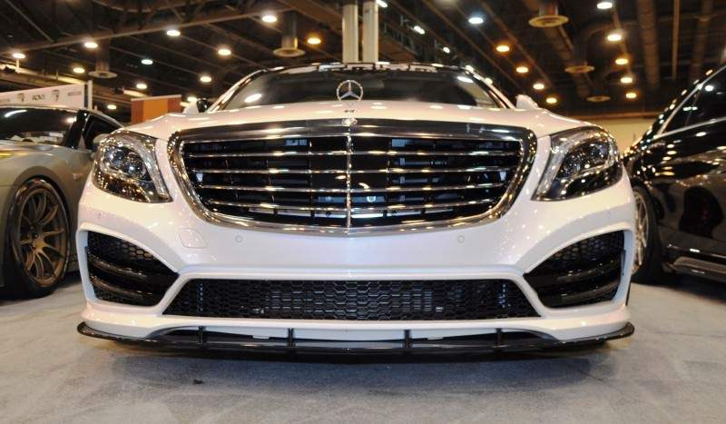 Houston Tuner Showcase - 2015 Mercedes-Benz S-Class by MODESTA Glass Coatings Ft. Prior Design Bodykits 6