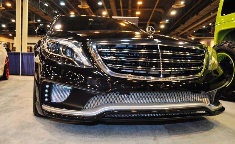 Houston Tuner Showcase - 2015 Mercedes-Benz S-Class by MODESTA Glass Coatings Ft. Prior Design Bodykits 9