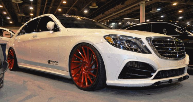 Houston Tuner Showcase - 2015 Mercedes-Benz S-Class by MODESTA Glass Coatings Ft. Prior Design Bodykits