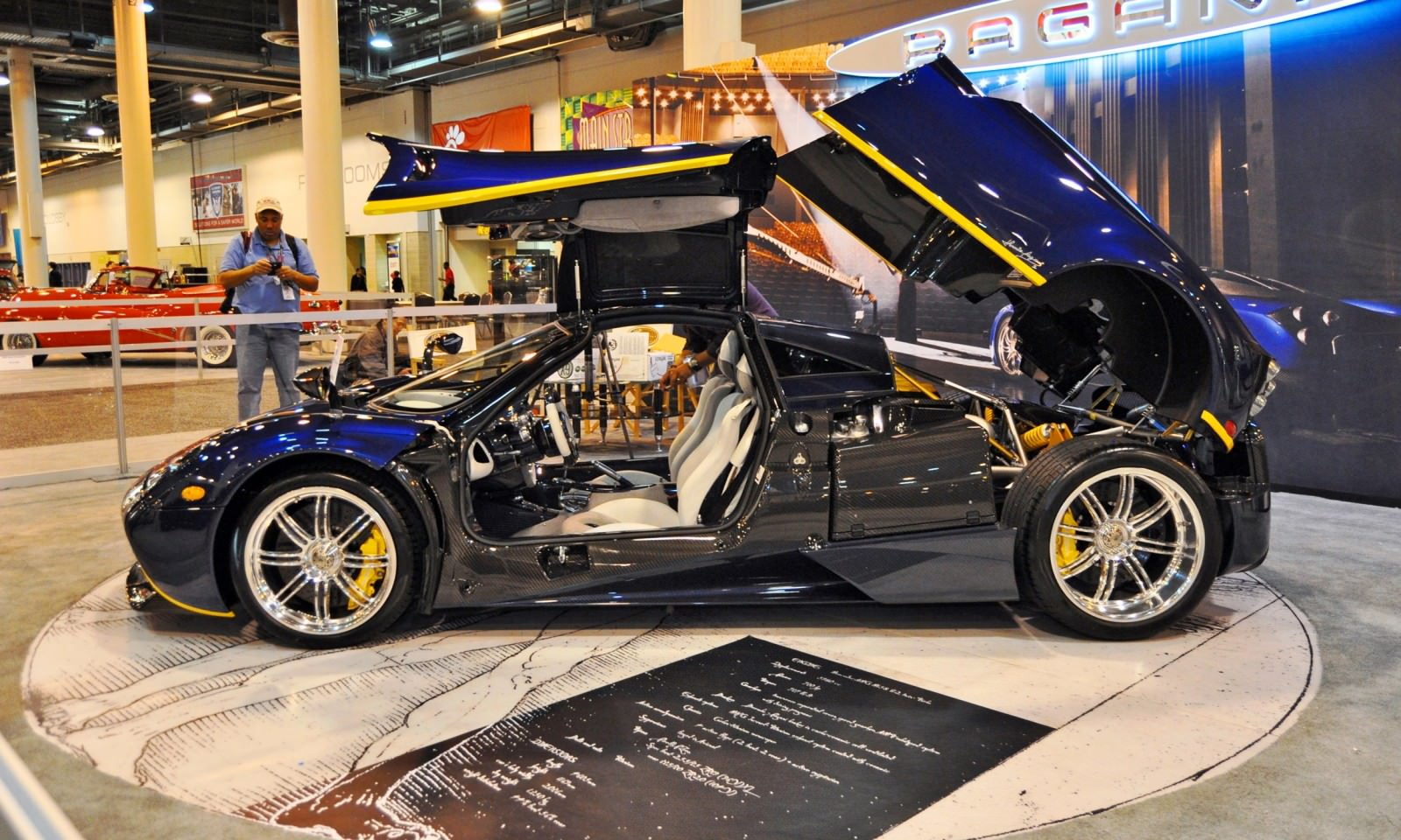 Hypercar Heroes! 2015 Pagani Huayra Up Close and Personal 1
