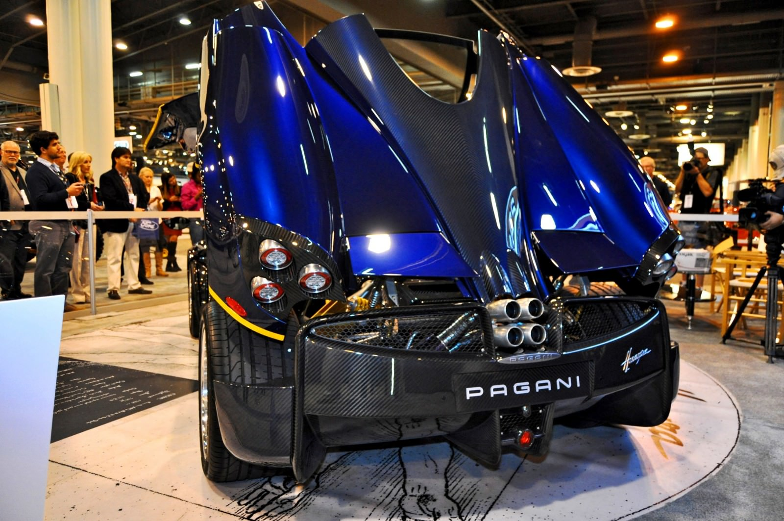 Hypercar Heroes! 2015 Pagani Huayra Up Close and Personal 10