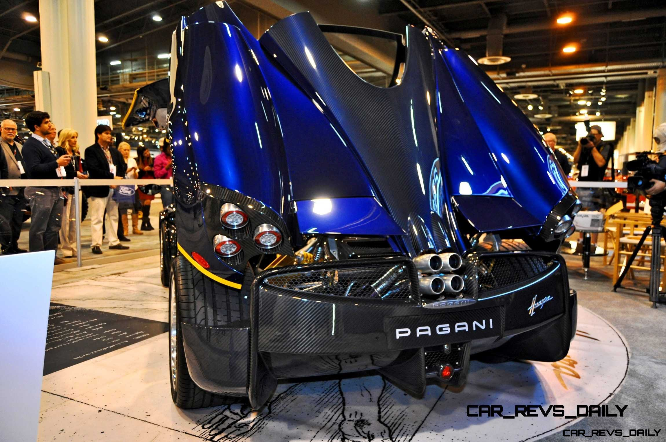 Hypercar Heroes! 2015 Pagani Huayra Up Close and Personal 10