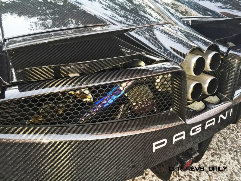 Hypercar Heroes! 2015 Pagani Huayra Up Close and Personal 15