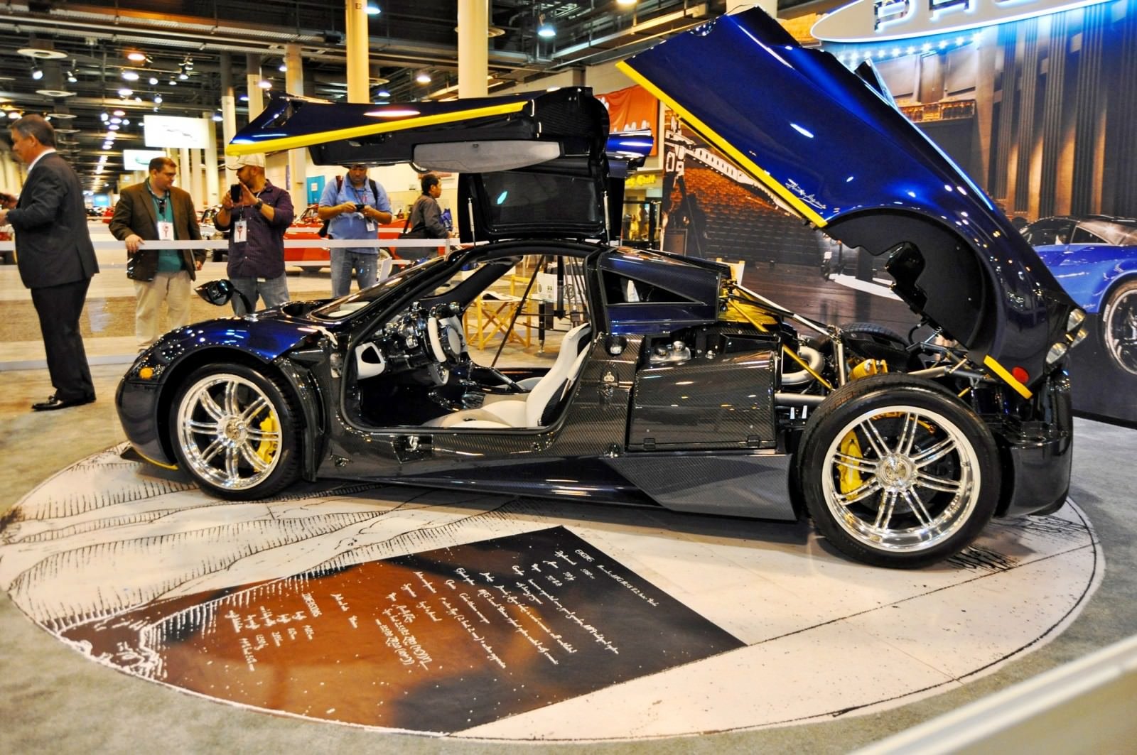 Hypercar Heroes! 2015 Pagani Huayra Up Close and Personal 2