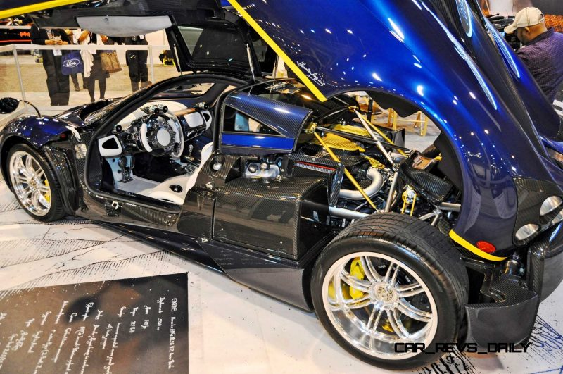 Hypercar Heroes! 2015 Pagani Huayra Up Close and Personal 6