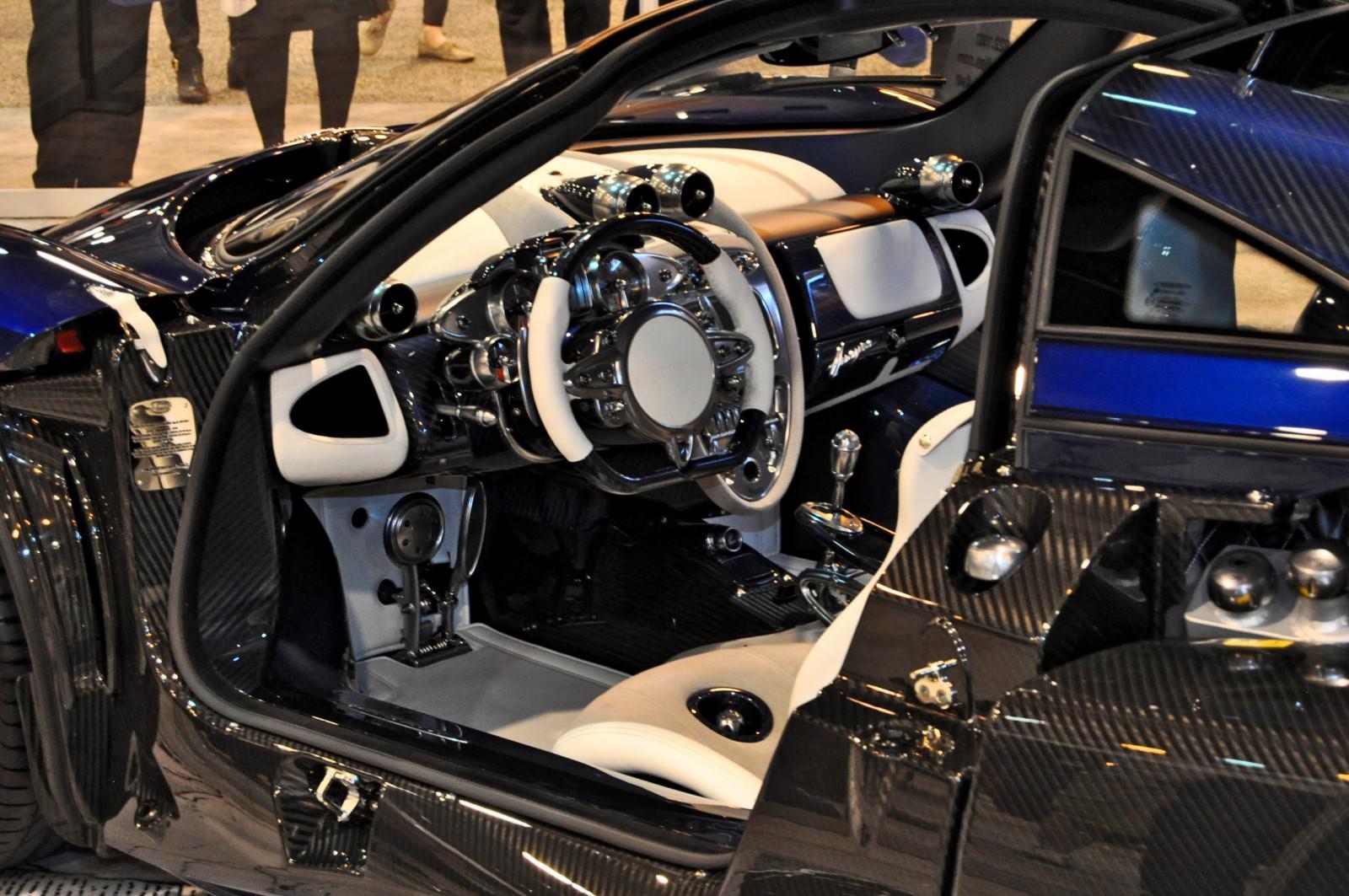 Hypercar Heroes! 2015 Pagani Huayra Up Close and Personal 7