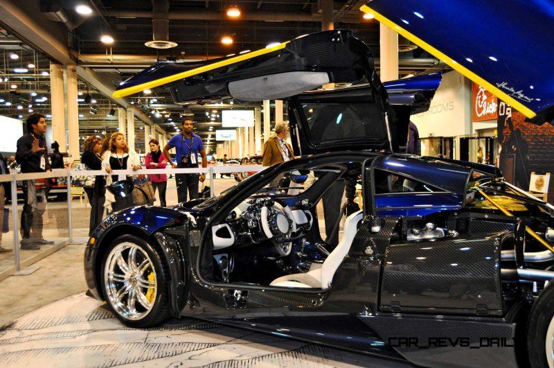 Hypercar Heroes! 2015 Pagani Huayra Up Close and Personal 8