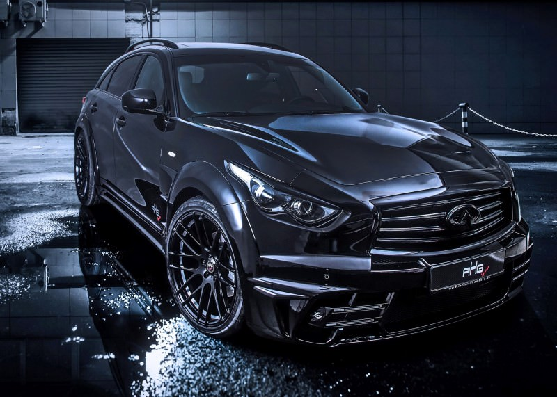 INFINITI QX70 Larte LR3 Widebody from AHG-Sports 1