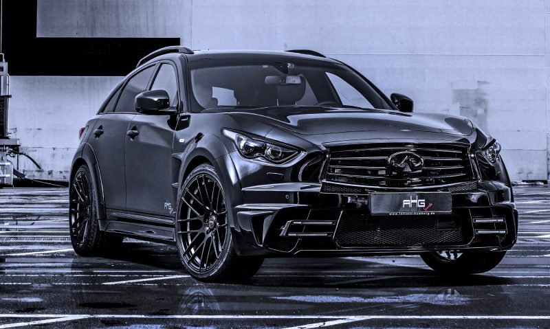 INFINITI QX70 Larte LR3 Widebody from AHG-Sports 2