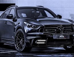 INFINITI QX70 Larte LR3 Widebody from AHG-Sports