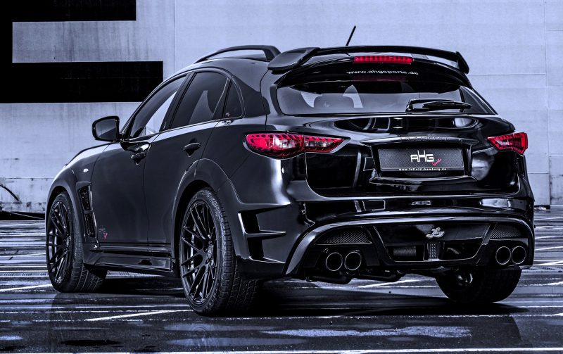 INFINITI QX70 Larte LR3 Widebody from AHG-Sports 3