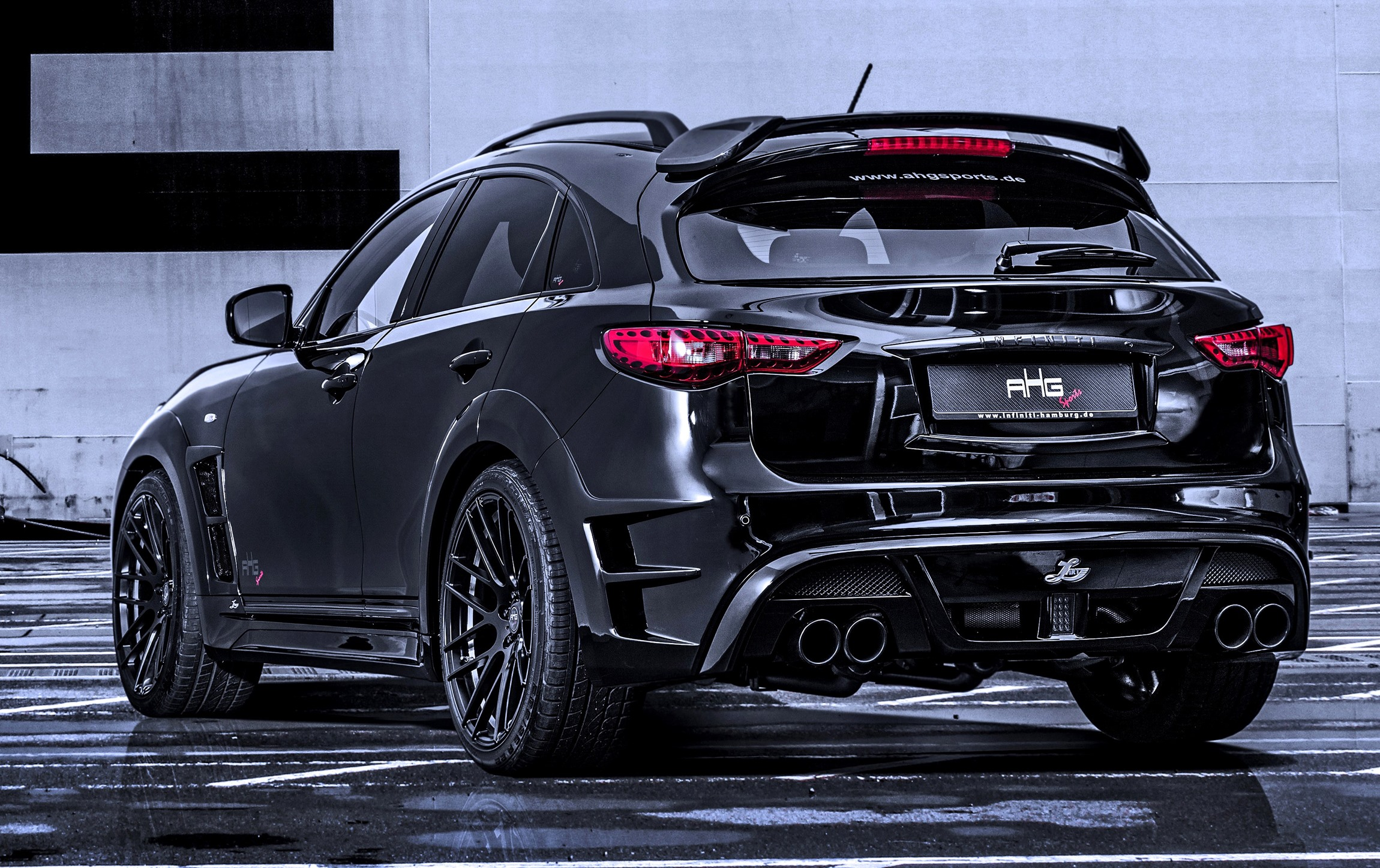 Black Qx70 >> INFINITI QX70 Larte LR3 Widebody from AHG-Sports
