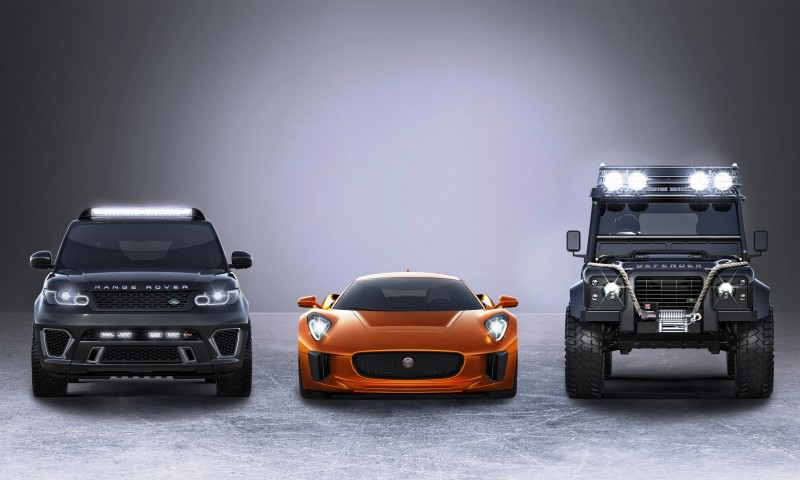 Jaguar Land Rover 007 SPECTRE Cars 5