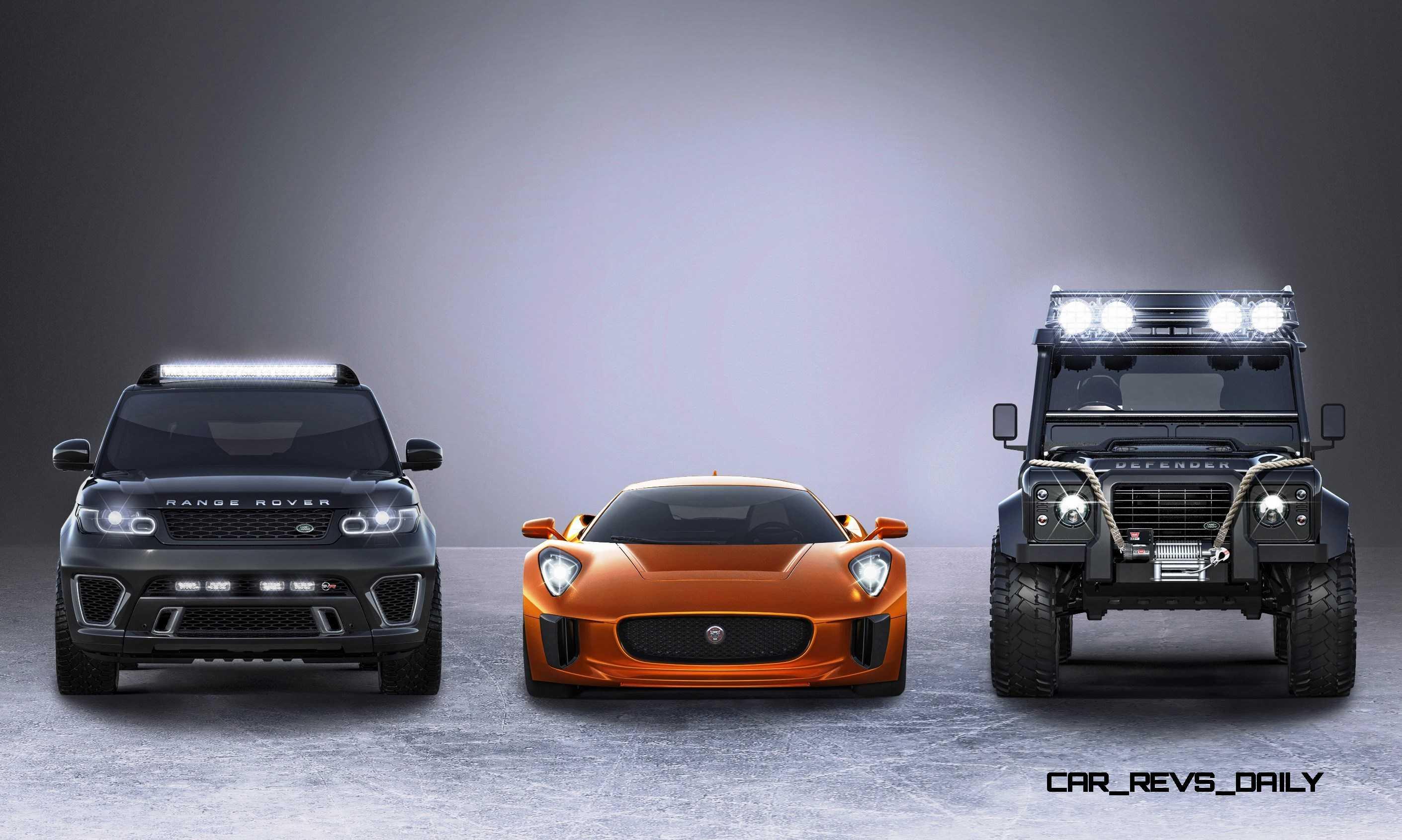 jaguar land rover 007 spectre cars. Black Bedroom Furniture Sets. Home Design Ideas