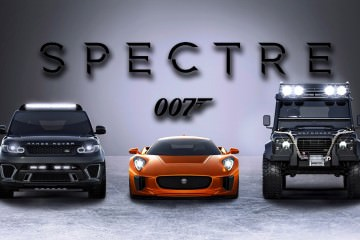 Jaguar Land Rover 007 SPECTRE Cars 6