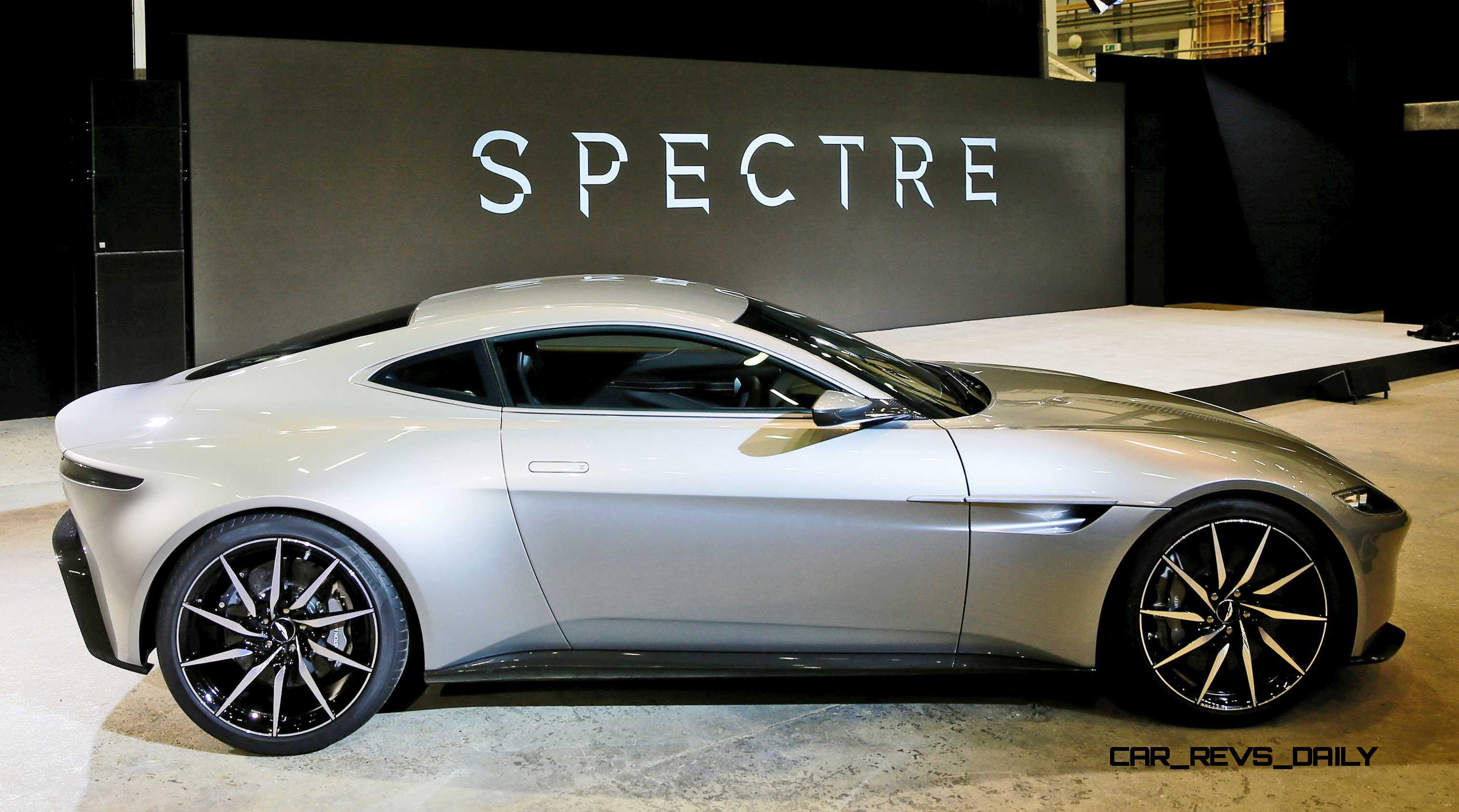 An Aston Martin Db10 Car Is Seen During Event To Mark The Sta