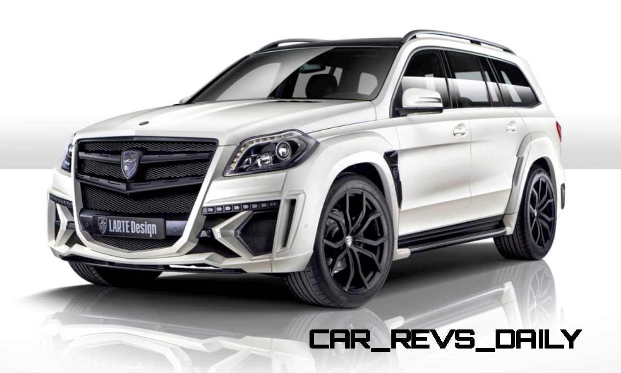 Larte design mercedes benz gl class black crystal for Gl mercedes benz