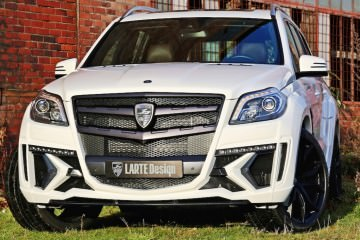LARTE Design Mercedes-Benz GL-Class Black Crystal in 80 New Photos!
