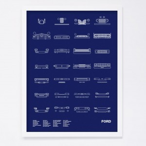 NOMO Design Auto Icon Screen Prints 14