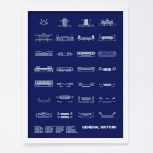 NOMO Design Auto Icon Screen Prints 16