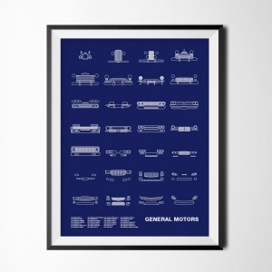 NOMO Design Auto Icon Screen Prints 17
