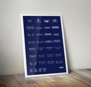 NOMO Design Auto Icon Screen Prints 6