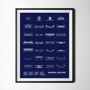 NOMO Design Auto Icon Screen Prints 8