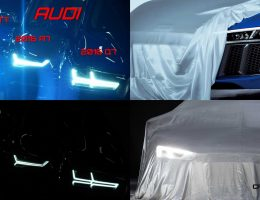 All-New 2016 Audi R8 First Look Teases Laser LED Headlamp For Berlinale VIPs