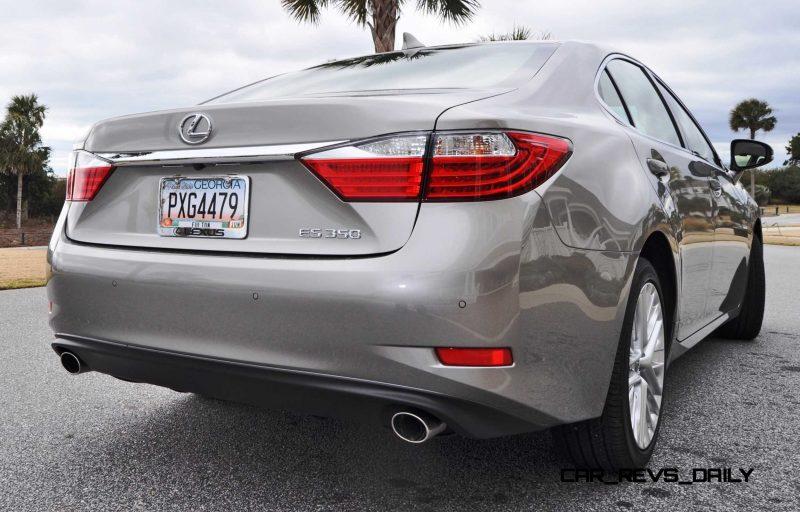 Road Test Review - 2015 Lexus ES350  58