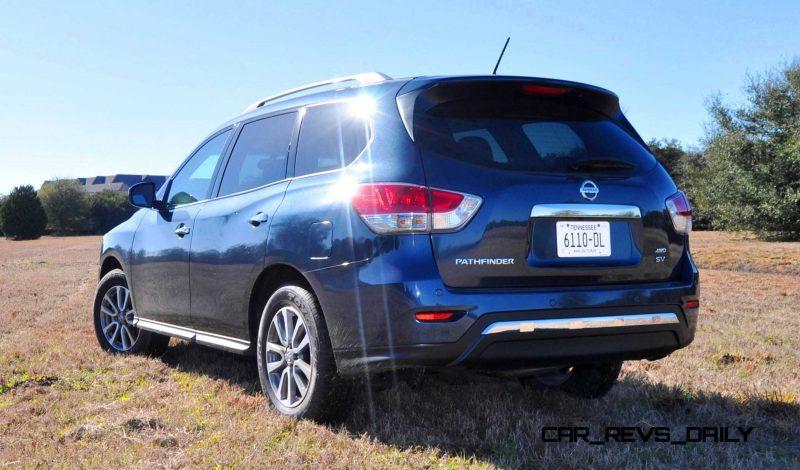 Road Test Review - 2015 Nissan Pathfinder SV 4WD 100