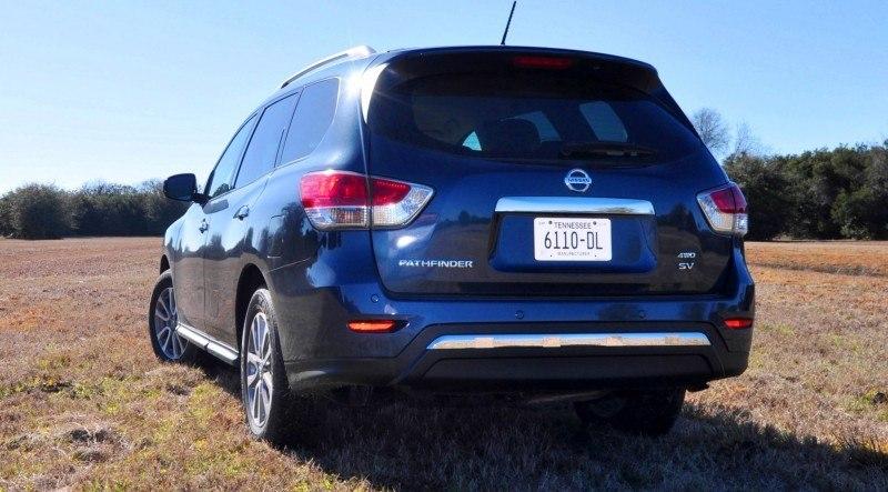 Road Test Review - 2015 Nissan Pathfinder SV 4WD 102