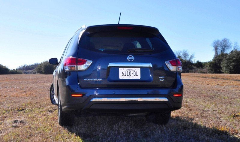 Road Test Review - 2015 Nissan Pathfinder SV 4WD 103