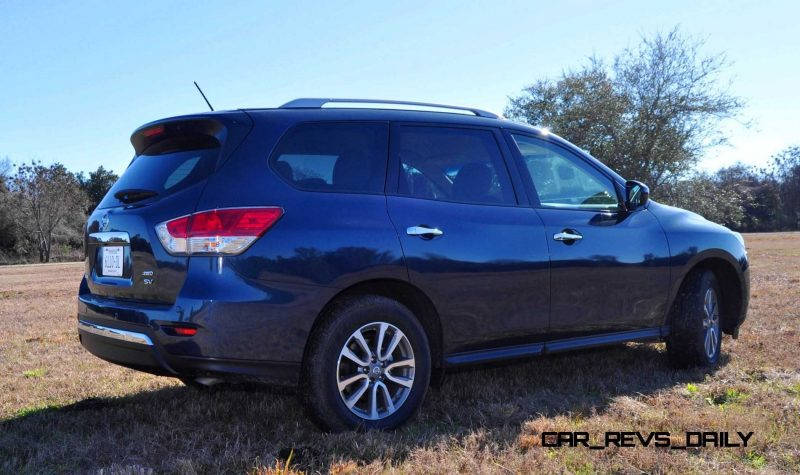 Road Test Review - 2015 Nissan Pathfinder SV 4WD 106