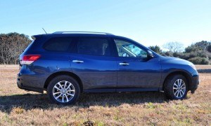Road Test Review - 2015 Nissan Pathfinder SV 4WD 109