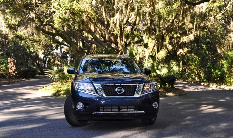 Road Test Review - 2015 Nissan Pathfinder SV 4WD 111