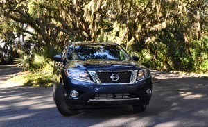 Road Test Review - 2015 Nissan Pathfinder SV 4WD 112