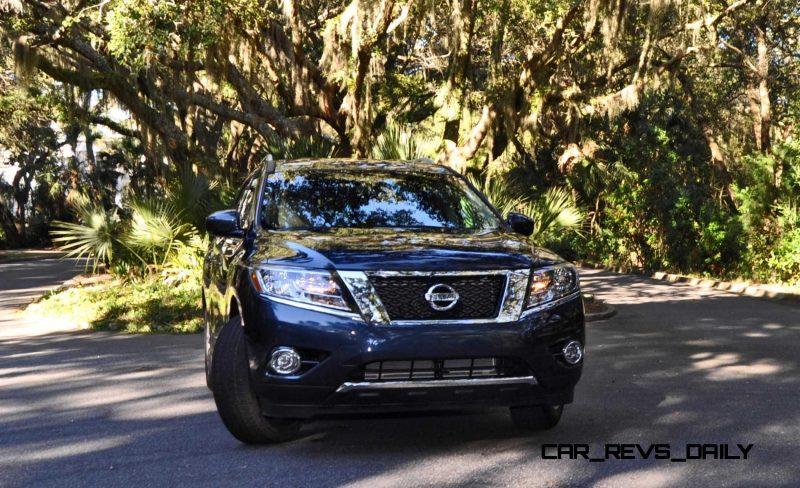Road Test Review - 2015 Nissan Pathfinder SV 4WD 112