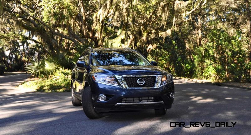 Road Test Review - 2015 Nissan Pathfinder SV 4WD 113