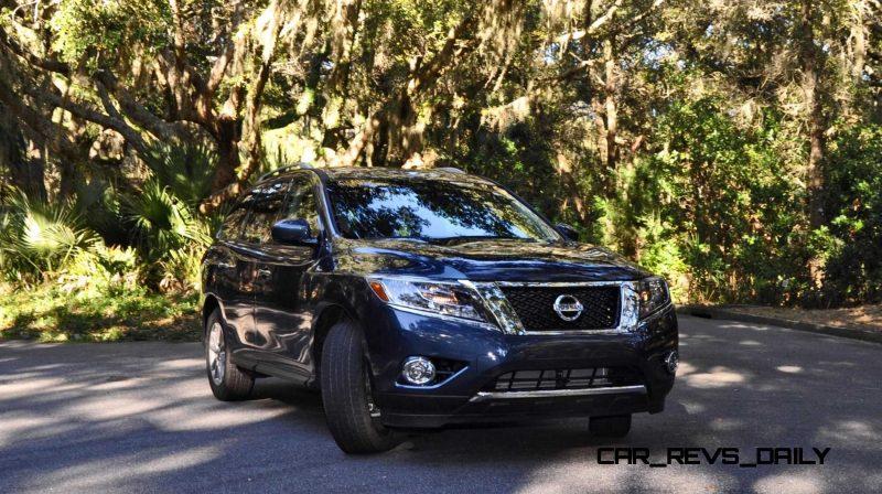 Road Test Review - 2015 Nissan Pathfinder SV 4WD 114