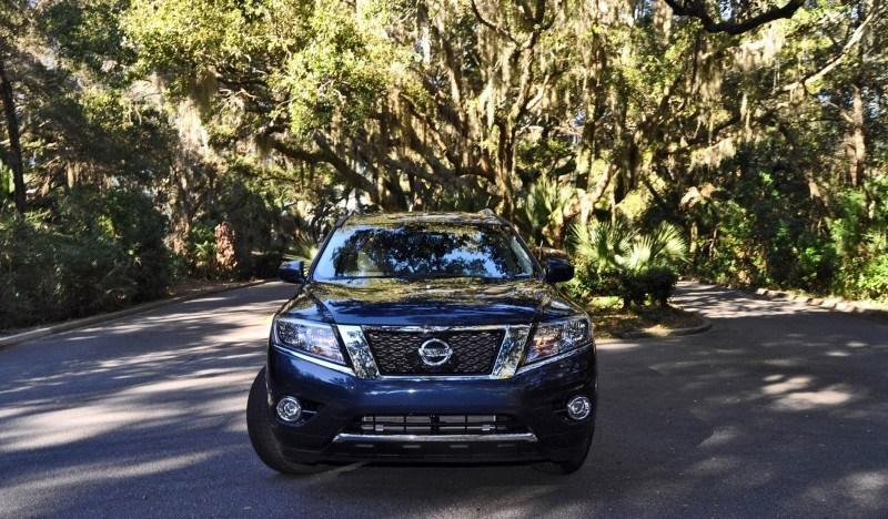 Road Test Review - 2015 Nissan Pathfinder SV 4WD 116