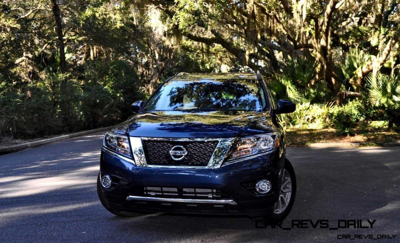 Road Test Review - 2015 Nissan Pathfinder SV 4WD 117