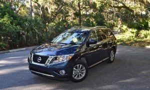 Road Test Review - 2015 Nissan Pathfinder SV 4WD 119