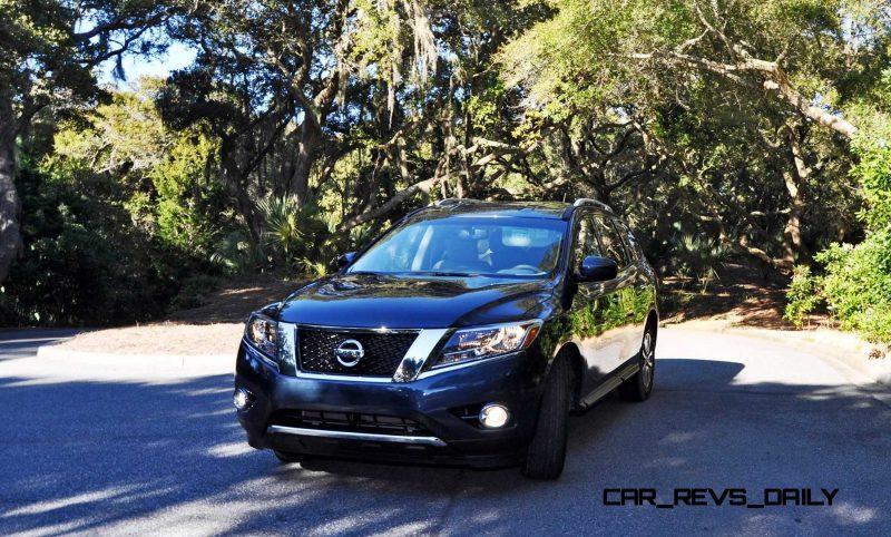 Road Test Review - 2015 Nissan Pathfinder SV 4WD 121