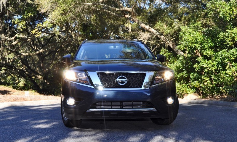Road Test Review - 2015 Nissan Pathfinder SV 4WD 124