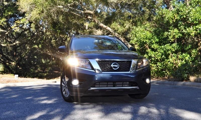 Road Test Review - 2015 Nissan Pathfinder SV 4WD 125
