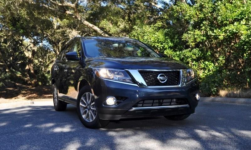 Road Test Review - 2015 Nissan Pathfinder SV 4WD 126