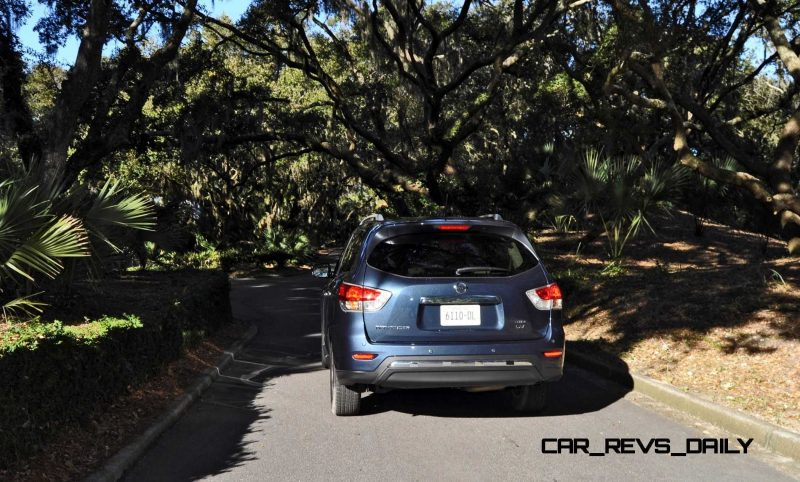 Road Test Review - 2015 Nissan Pathfinder SV 4WD 129