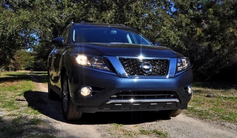 Road Test Review - 2015 Nissan Pathfinder SV 4WD 13