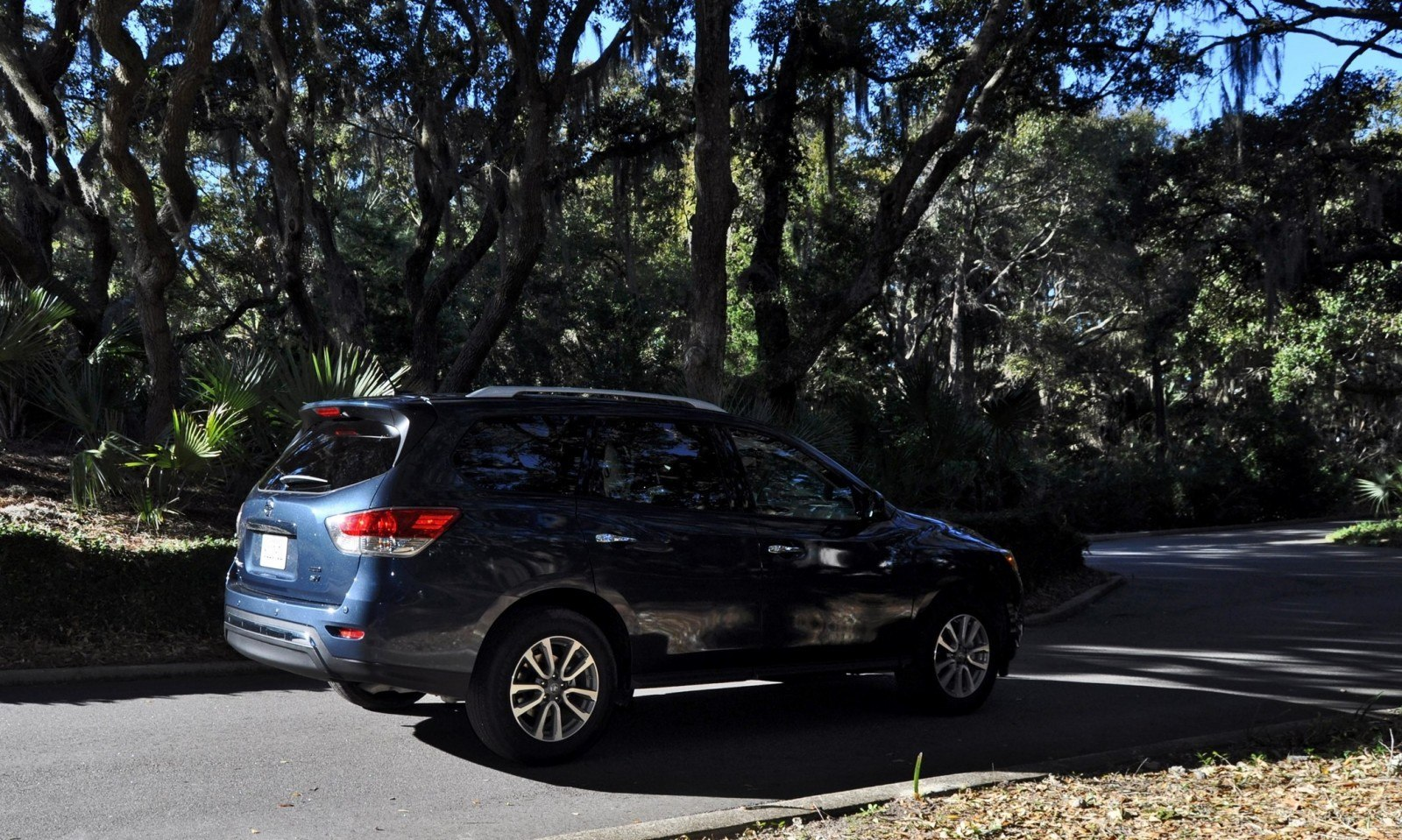 Road Test Review - 2015 Nissan Pathfinder SV 4WD 136