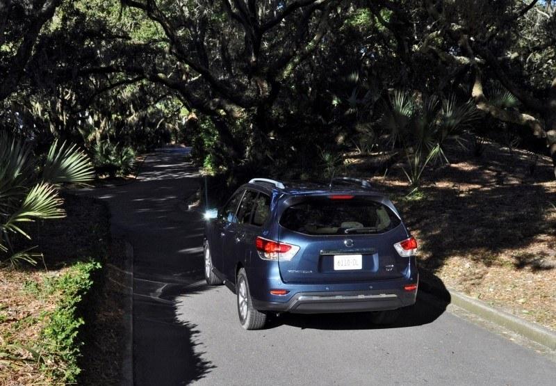 Road Test Review - 2015 Nissan Pathfinder SV 4WD 141